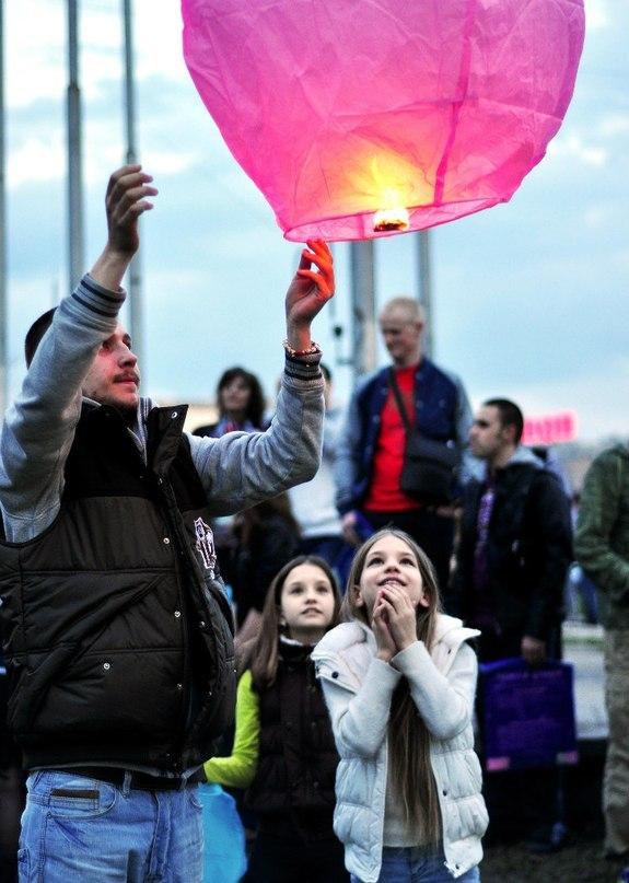 Небесные фонарики желаний Смайлик купить в Москве | заказать онлайн | доставка по России