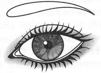 Восходящие глаза