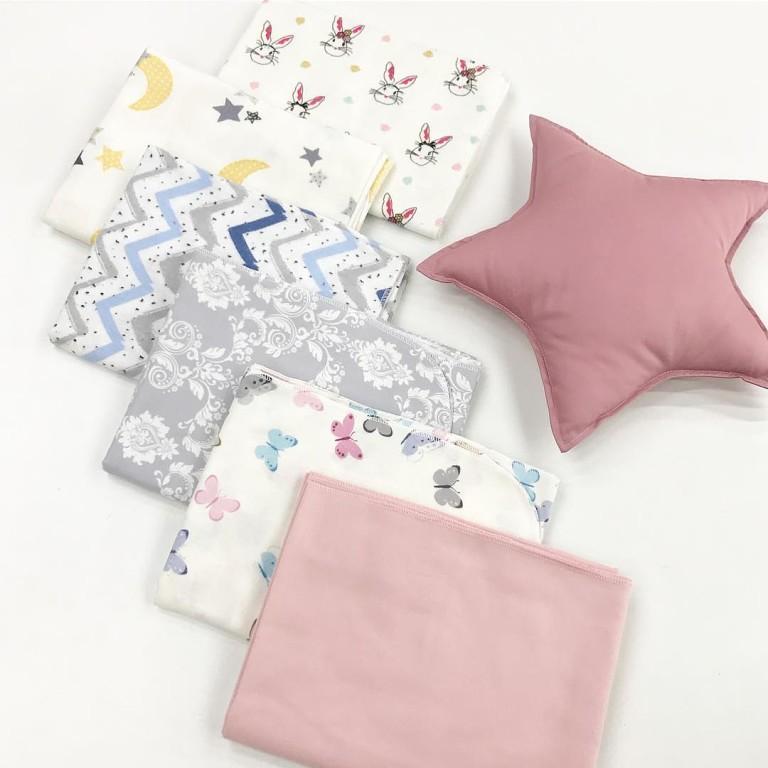 Купить пеленки из фланели для новорожденных
