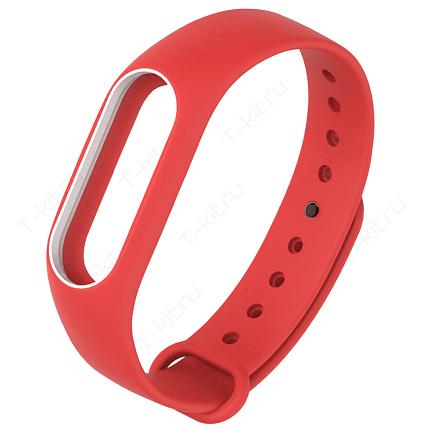 Умные часы Xiaomi Mi Band 2 (красный)