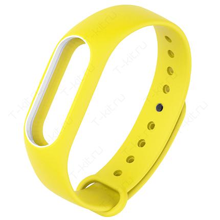 Умные часы Xiaomi Mi Band 2 Blue (желтый)