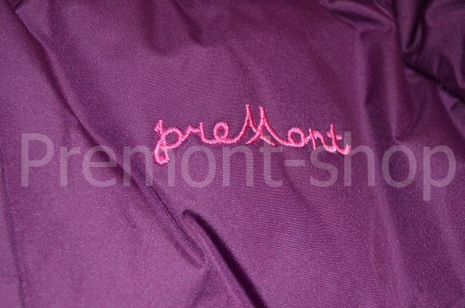 Логотип на пальто Premont Ягодный смузи