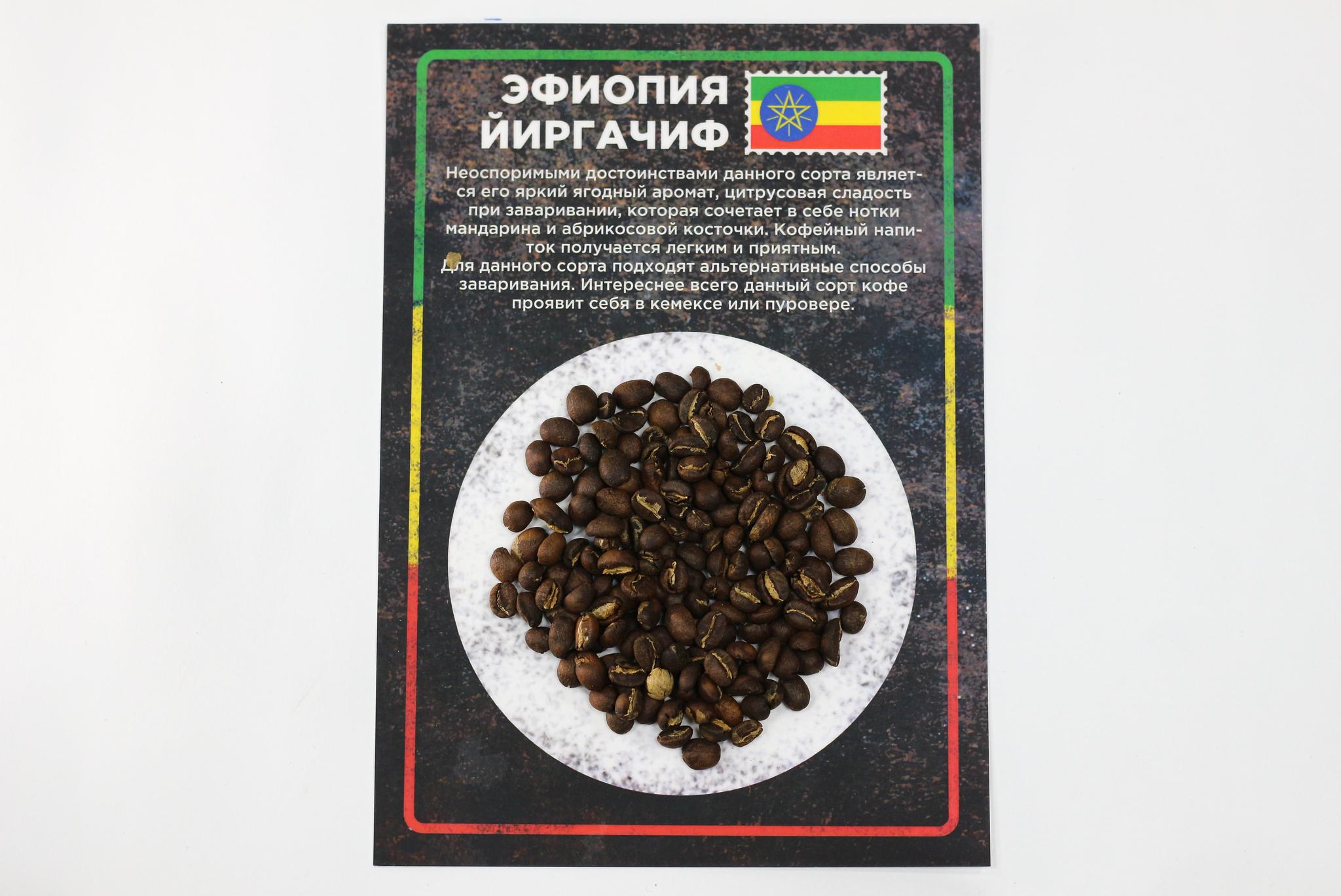 Форма арабики из Эфиопии
