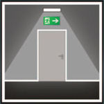 Аварийные светильники устанавливаются в коридорах и проходах по путям эвакуации