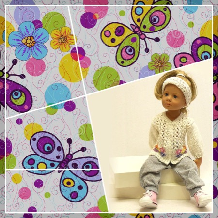 Одежда для кукол – Весна