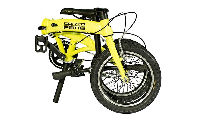 Складной велосипед corto
