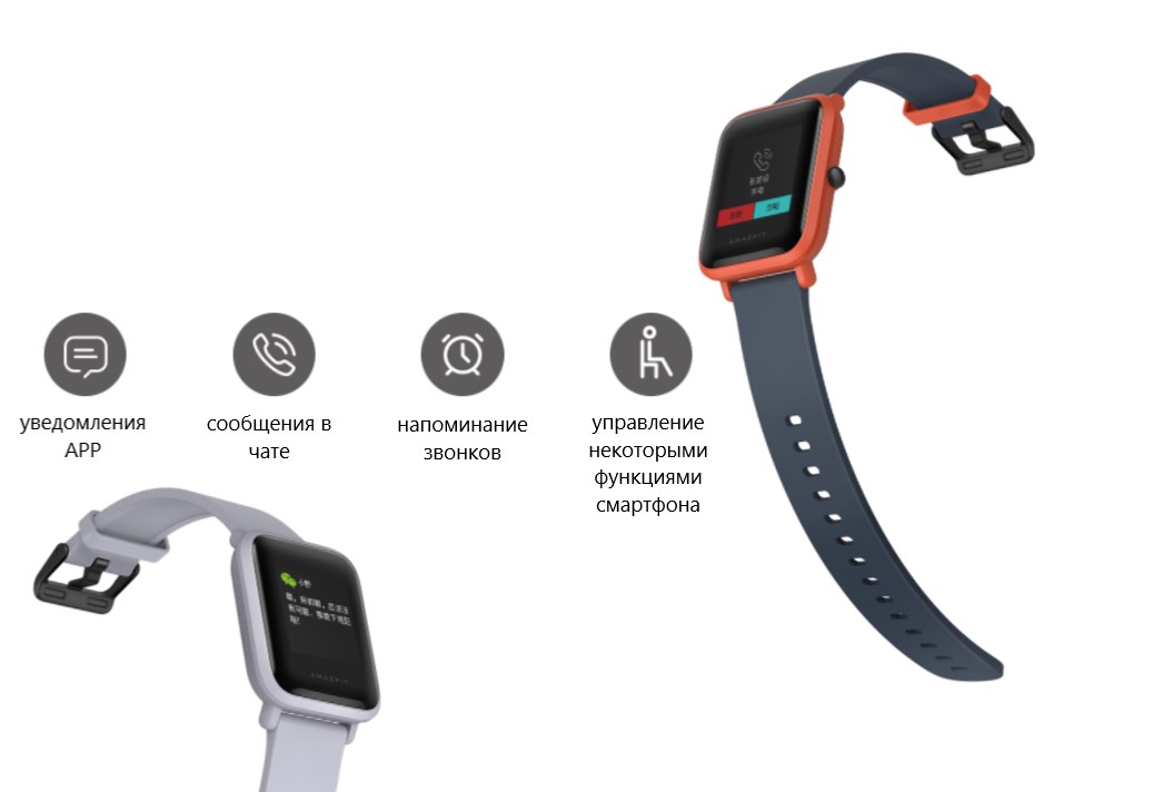 Смарт-часы Xiaomi Amazfit Bip Lite Youth Smart Watch (international version/черные)