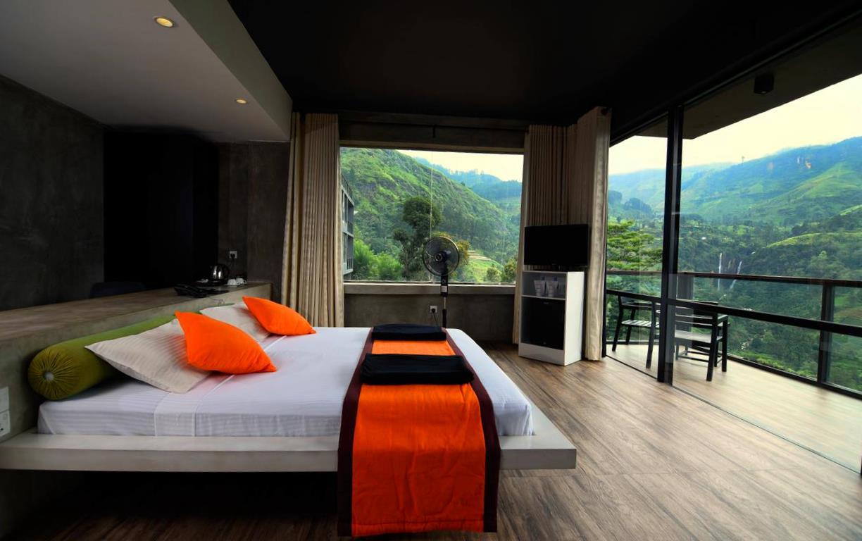 Отель с панорамным видом в Нувара Элии