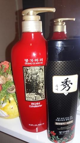 Фотообзор на шампунь и кондиционер Daeng Gi Meo Ri