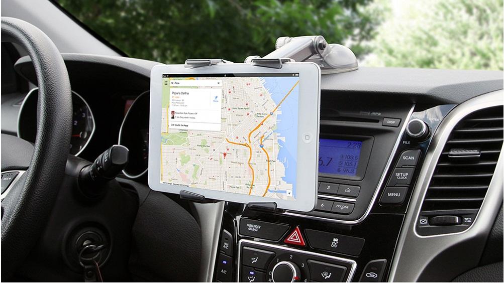 Onetto Universal Tablet Mount Easy Smart Tab 2 - Телескопический авто-держатель премиум-класса на присоске.