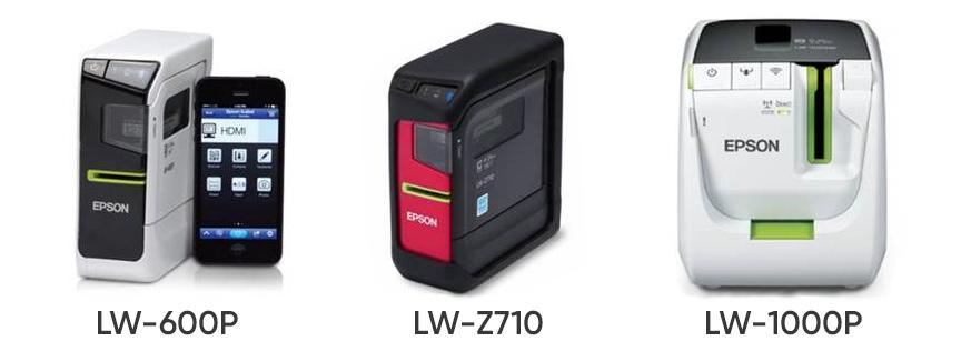 Новые принтеры Epson LabelWorks