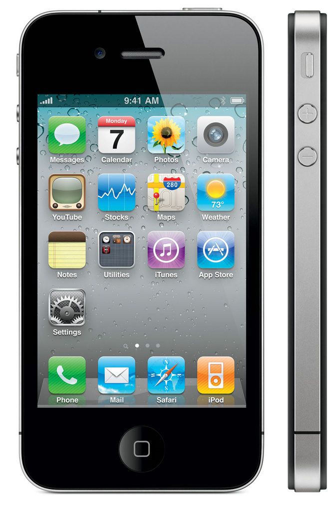 iPhone 4S Black Android 2.3 (MTK6573)