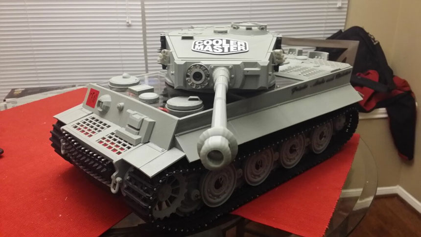 Напечатанный мод корпуса компьютера №3: The Tank