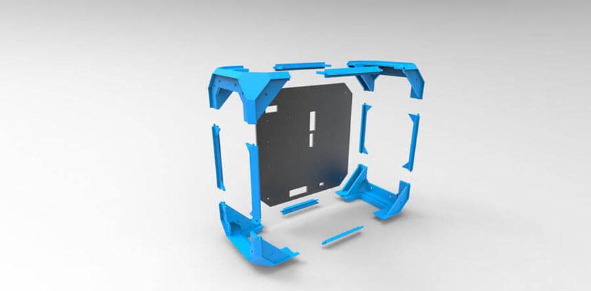 Напечатанный мод корпуса компьютера №5: Node