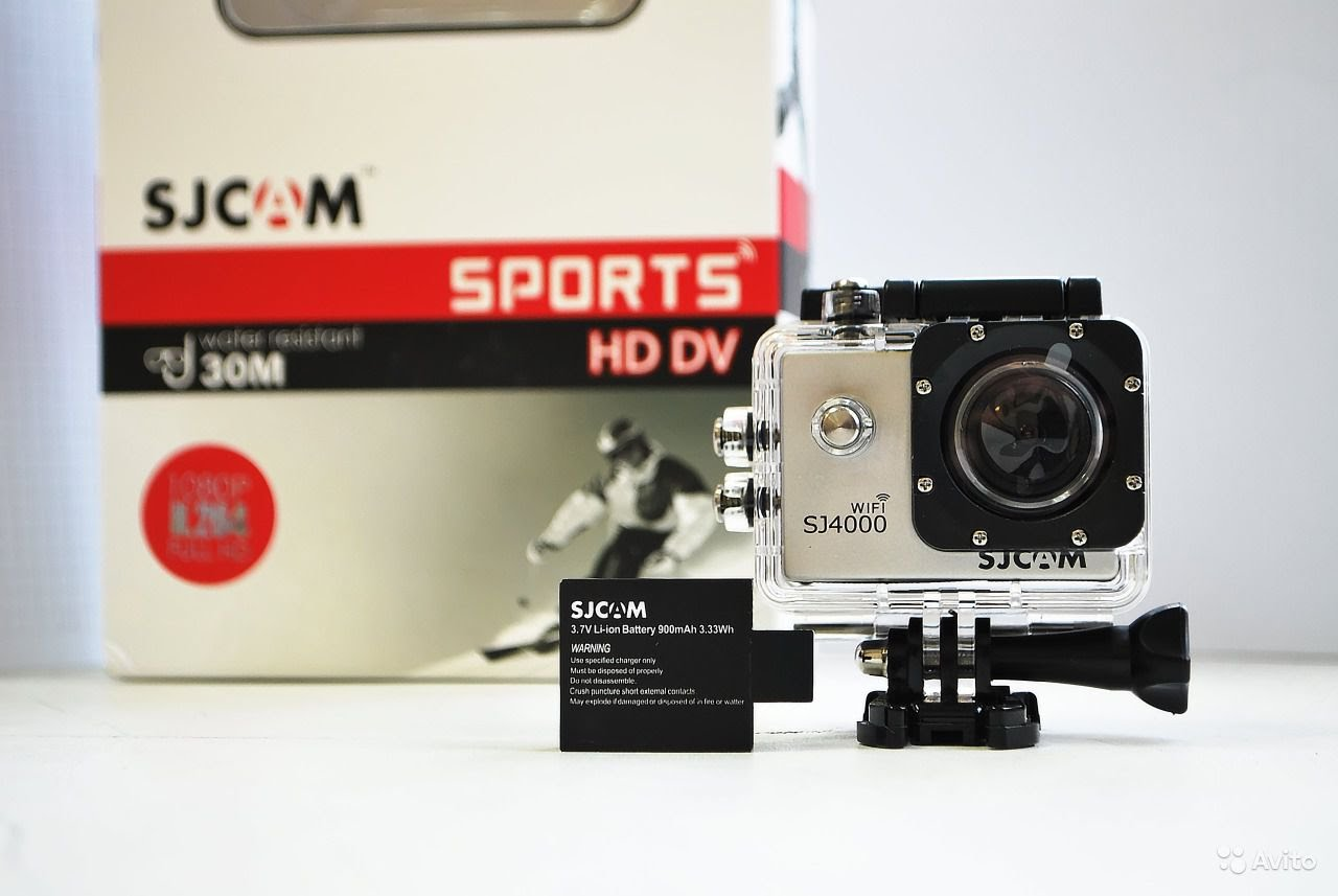 Экшен камера SJCAM SJ4000. Описание, характеристики, обзор.
