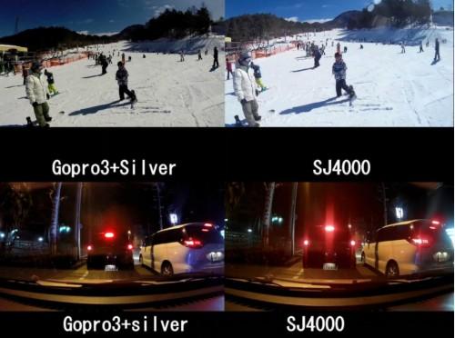 Экшен камера SJCAM SJ4000. Сравнение с gopro