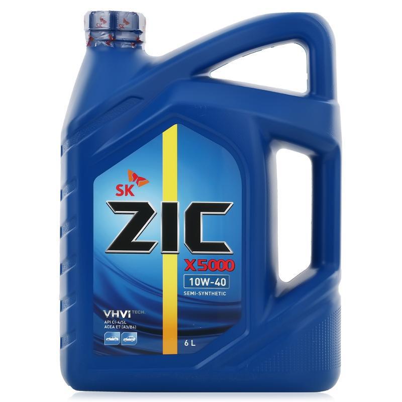 ZIC X5000 10W40 (6л)