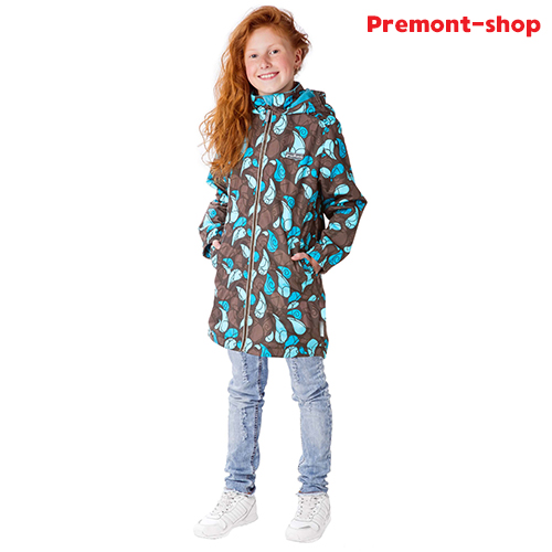 Плащ для девочек Premont Банфийские ветра