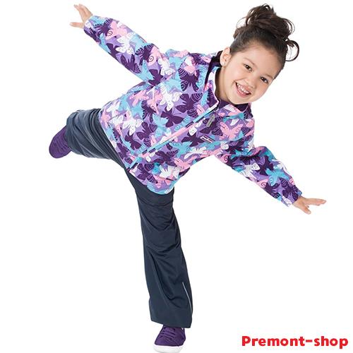 Ветровка Premont для девочки Нежный Оксалис