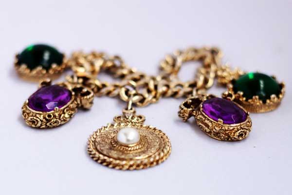 купить винтажный браслет Napoleon 60-е годы рублей