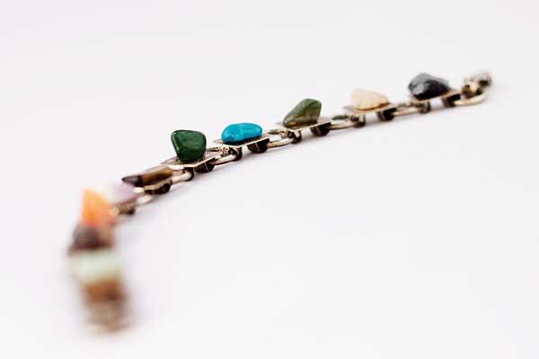 купить браслет с натуральными камнями рублей Винтажный