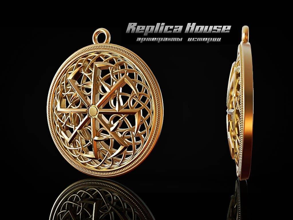 Новая модель Светоч, прототип в золоте