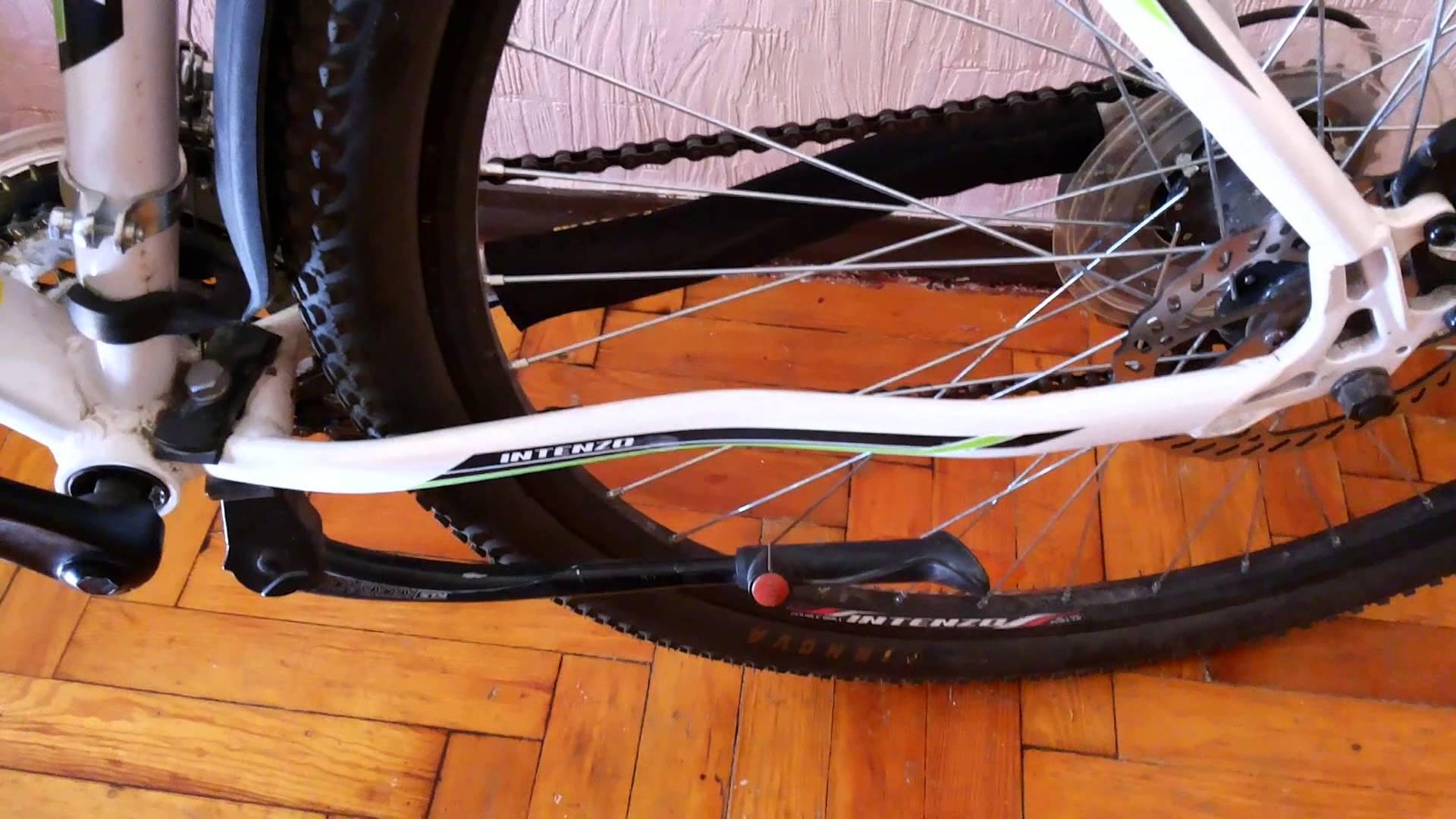 Универсальная подножка для велосипеда