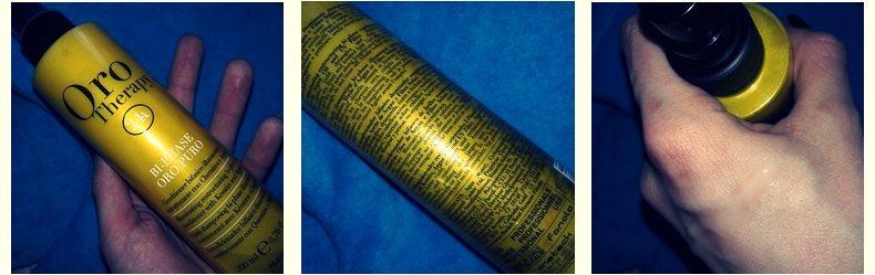 Фотообзор на двухфазный кондиционер с кератином Fanola