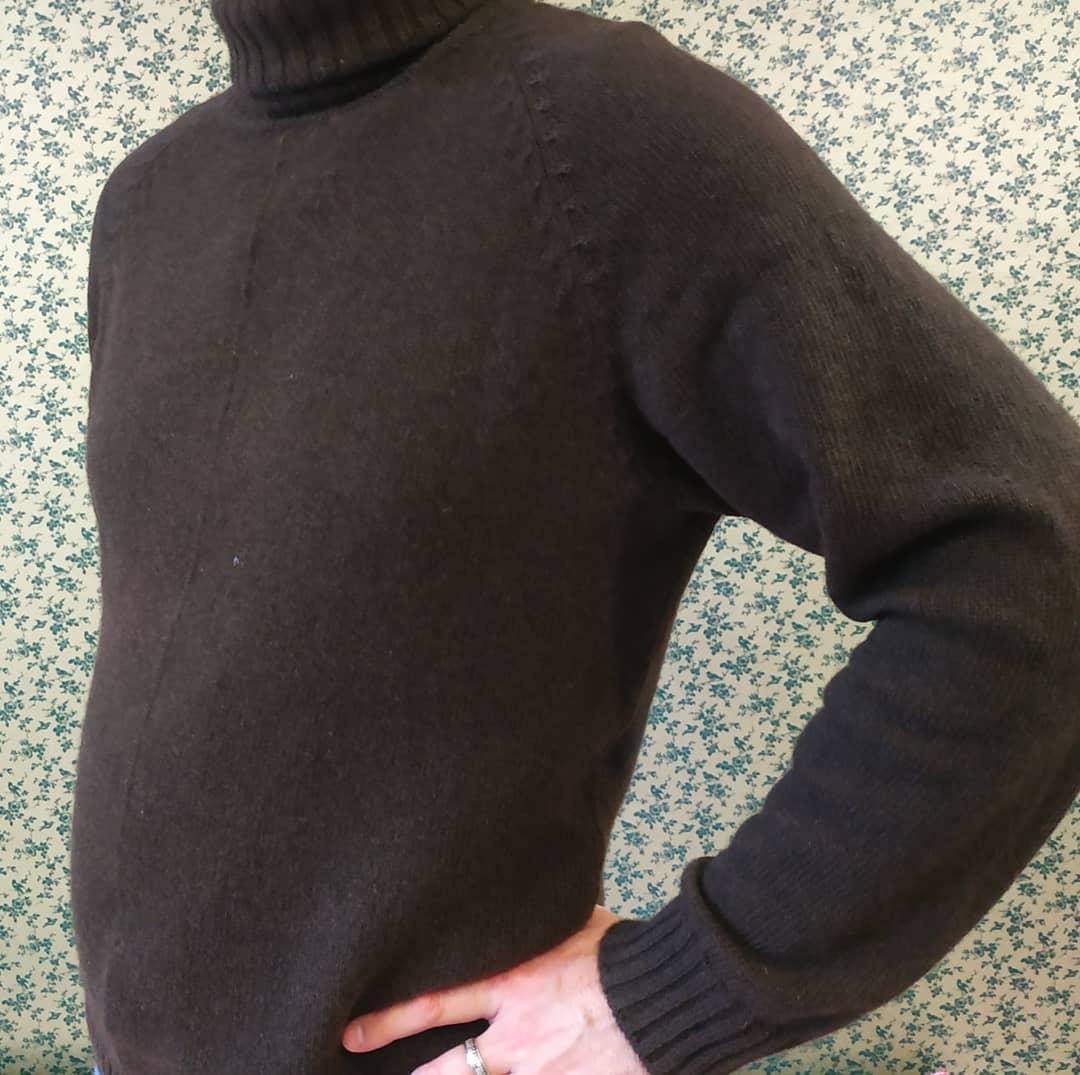 Мужской свитер из пуха яка SARLAG