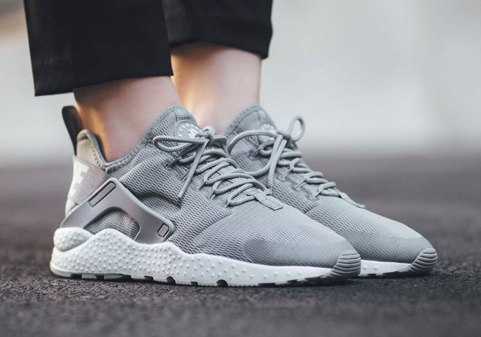 купить Nike Air Huarache Run Ultra Stealth Gray