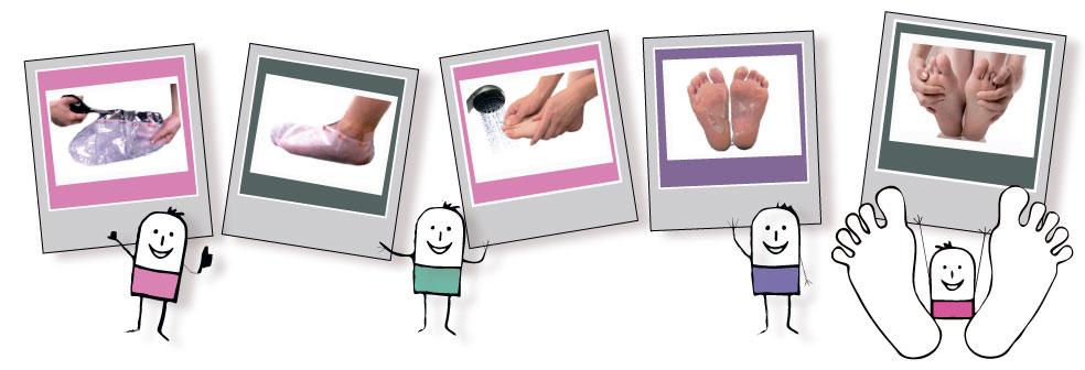 Педикюрные носочки Sosu с ароматом мяты (2 пары)
