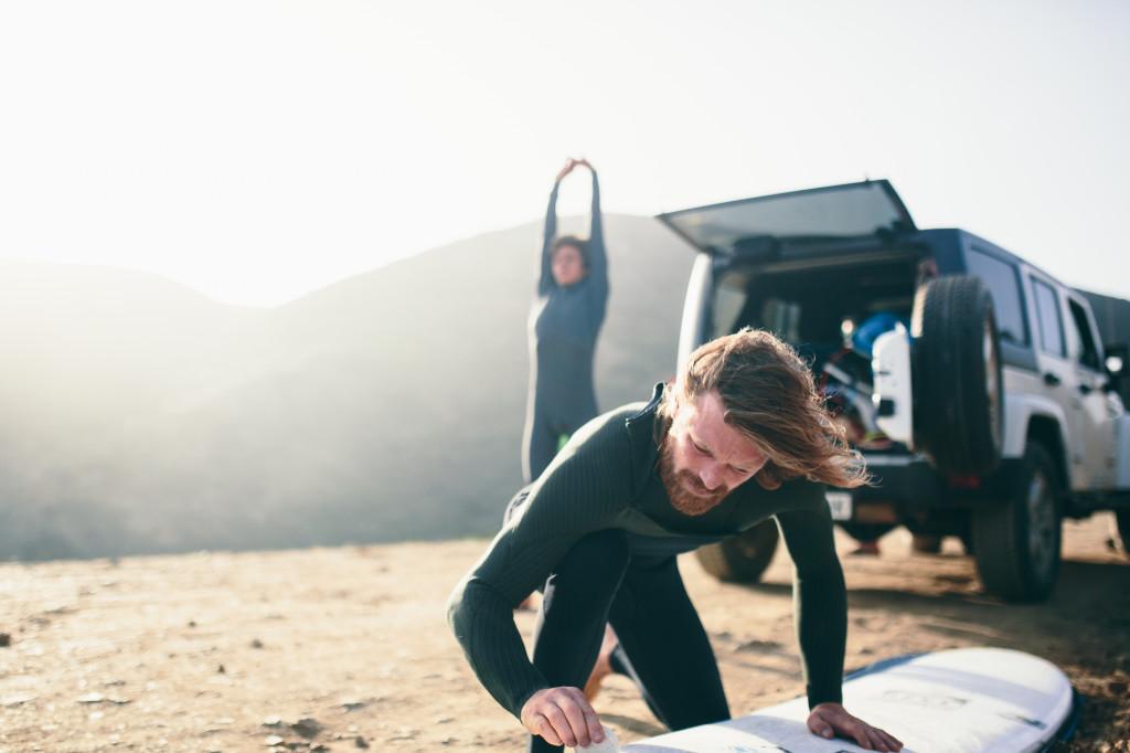 Подготовка к серфингу