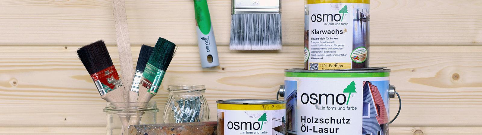 Краски и масла OSMO
