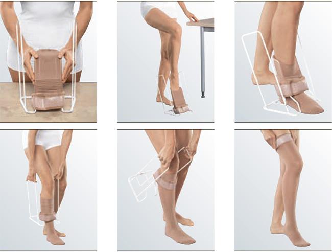 Батлер приспособление для одевания компрессионного трикотажа