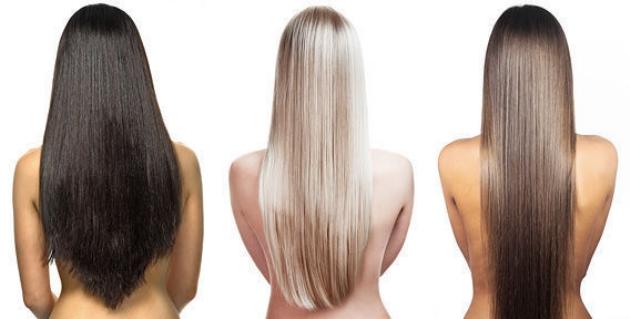 Здоровые и сильные волосы