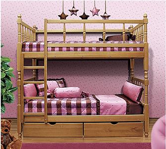Кровать из массива Мезонин 70