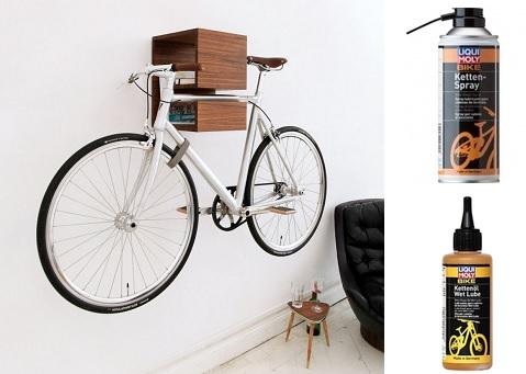Обслуживание велосипеда для хранения зимой