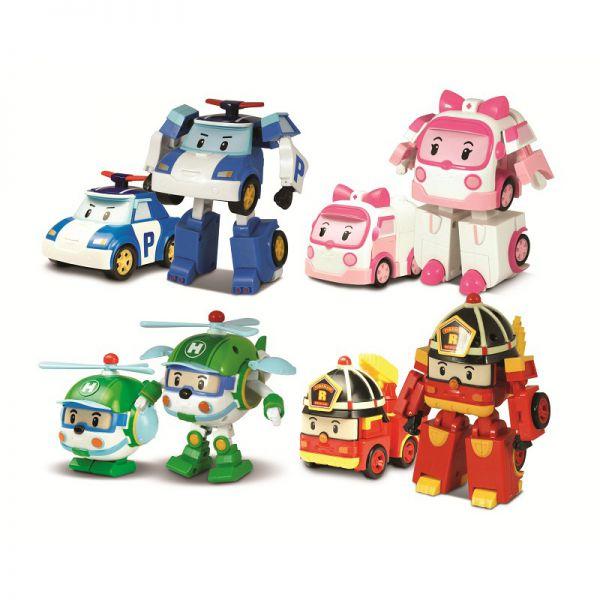 игрушки поли робокар трансформеры
