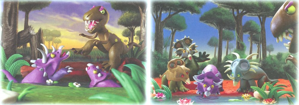 Секреты_пластилина_динозавры