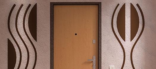 входные двери с ламинатом