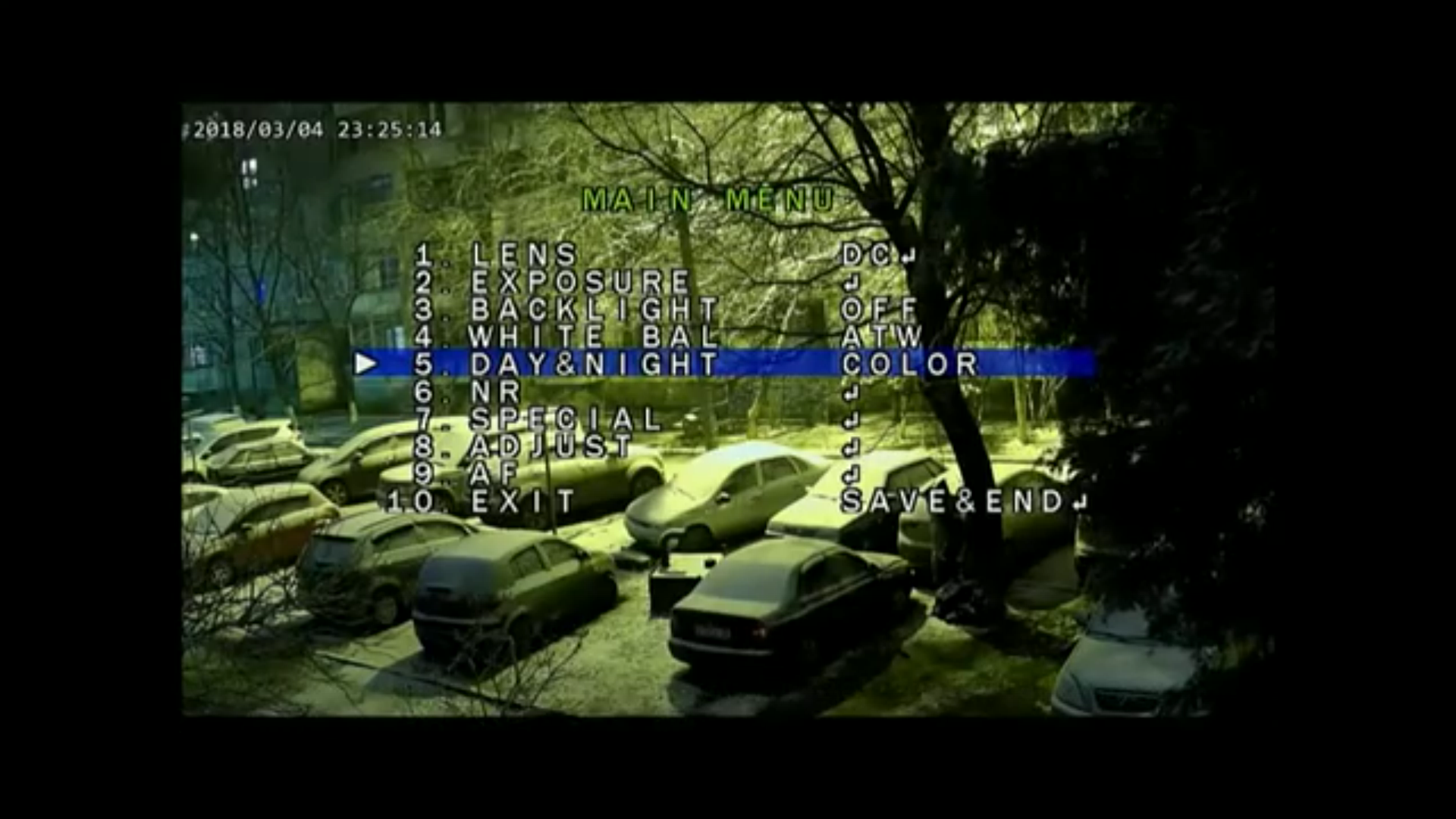 Видеокамера CAICO с датчиком избражения CMOS SONY IMX 291 ночь