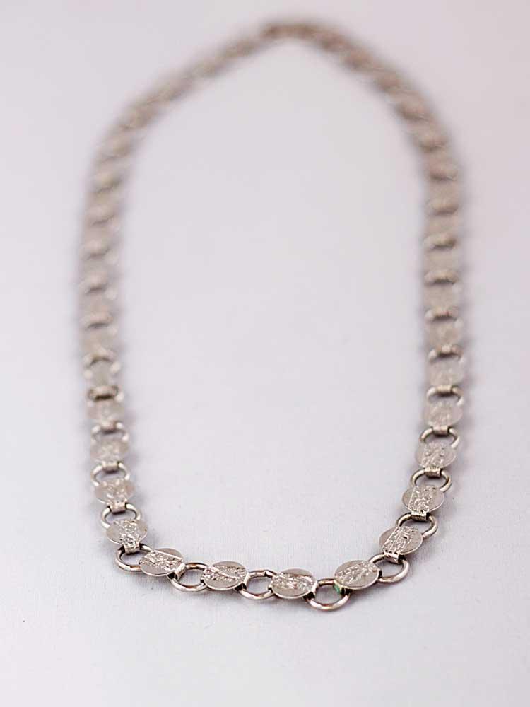 Купить Винтажное ожерелье из металла с тиснением Sarah Coventry 80-е годы рублей