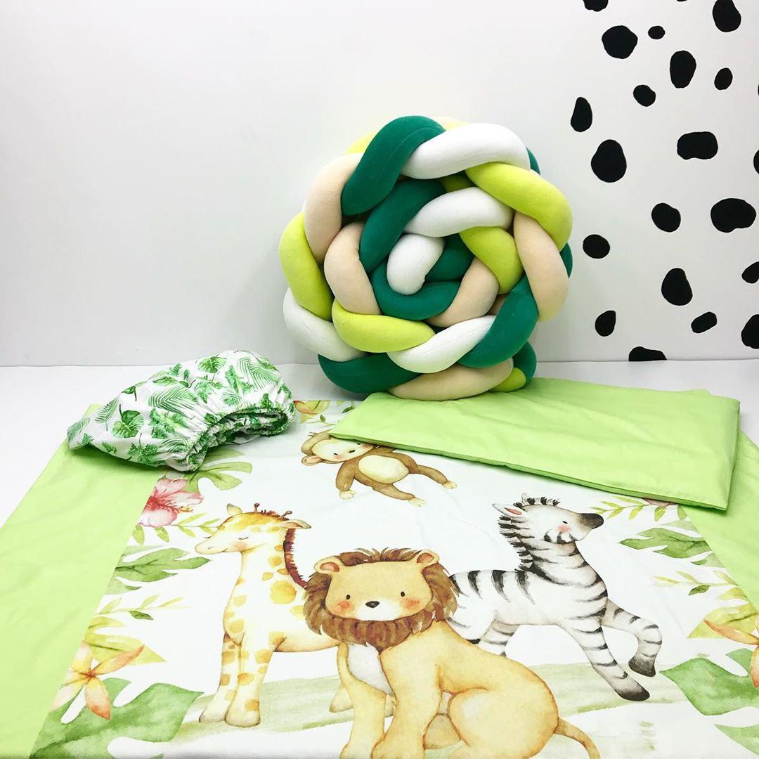 Купить ткань для пошива постельного белья в кроватку новорожденному