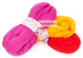 Купить шерсть для валяния тонкую в интернет-магазине недорого klubokshop.ru