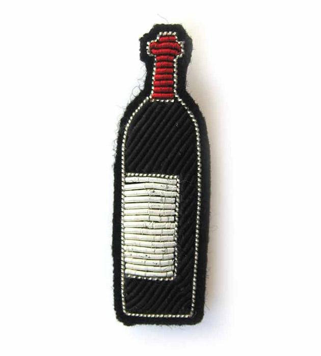 купите необычное украшение от Macon&Lesquoy - Bottle of wine pin
