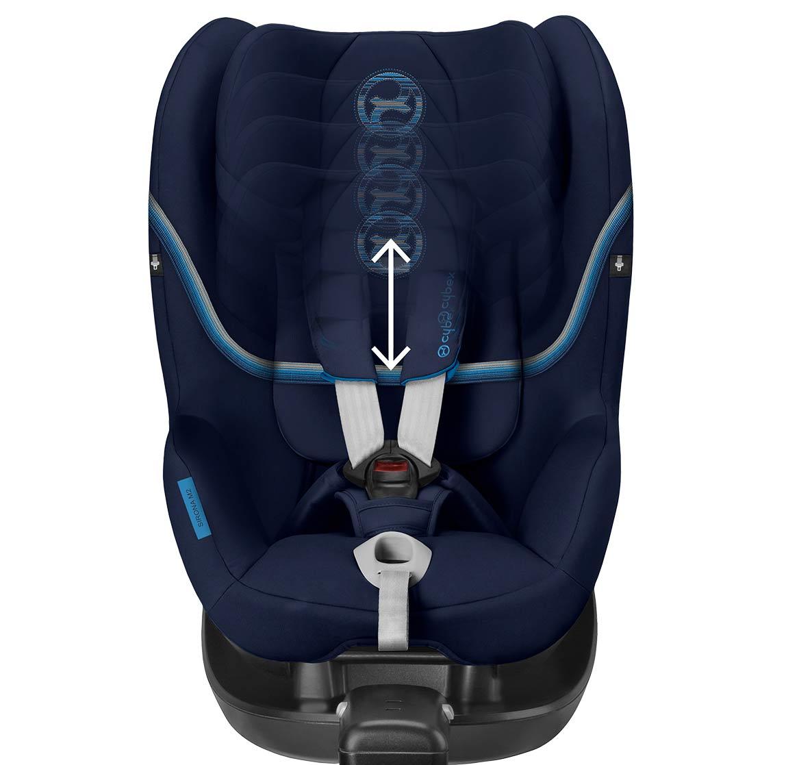 Регулируемый по высоте подголовник с 12 позициями - Комфортная защита, которая растет вместе с ребенком