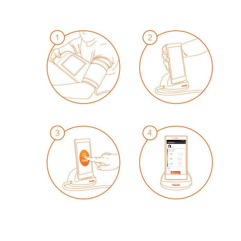 Тонометр Xiaomi iHealth Smart Blood Pressure Monitor