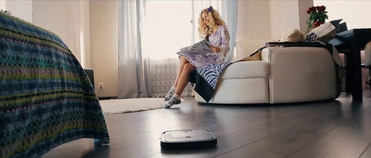 Робот-пылесос clever&clean у вас дома