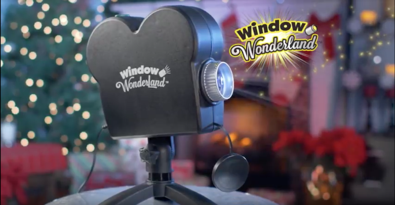 Проектор для окна Window WonderLand
