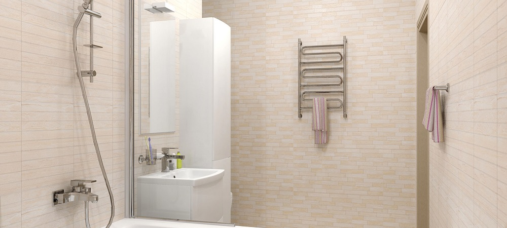 Полотенцесушитель в ванной